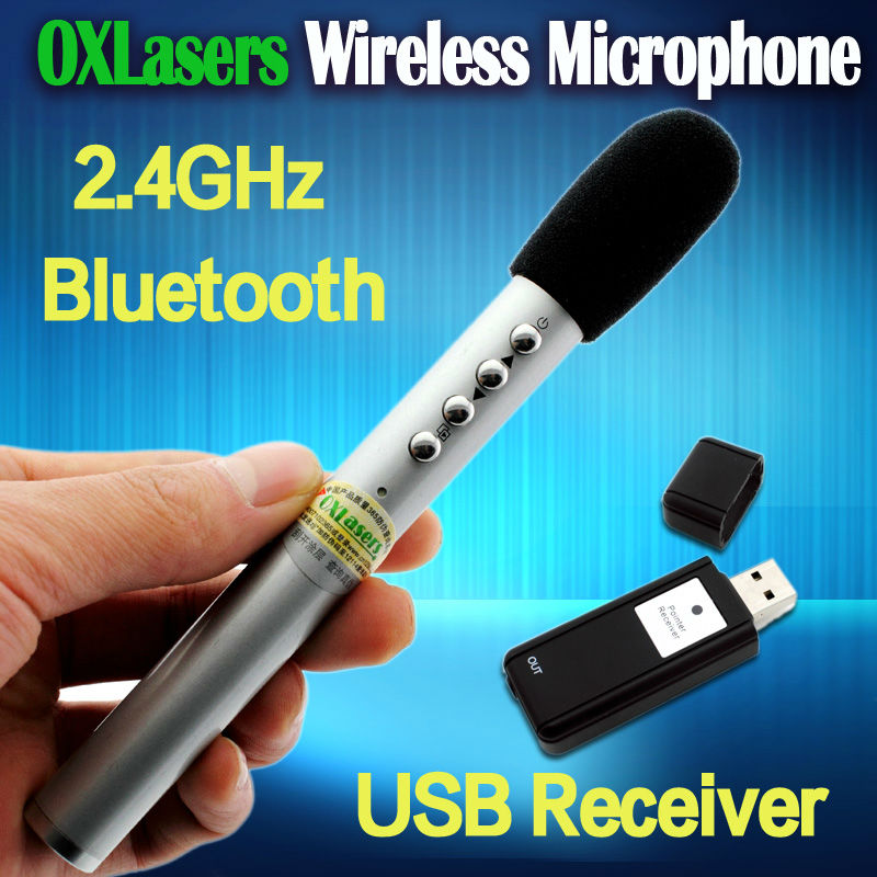pen shaped mini 2.4G wireless microphone handheld MIC with USB receiver for conference and teaching and tour guide bus mic