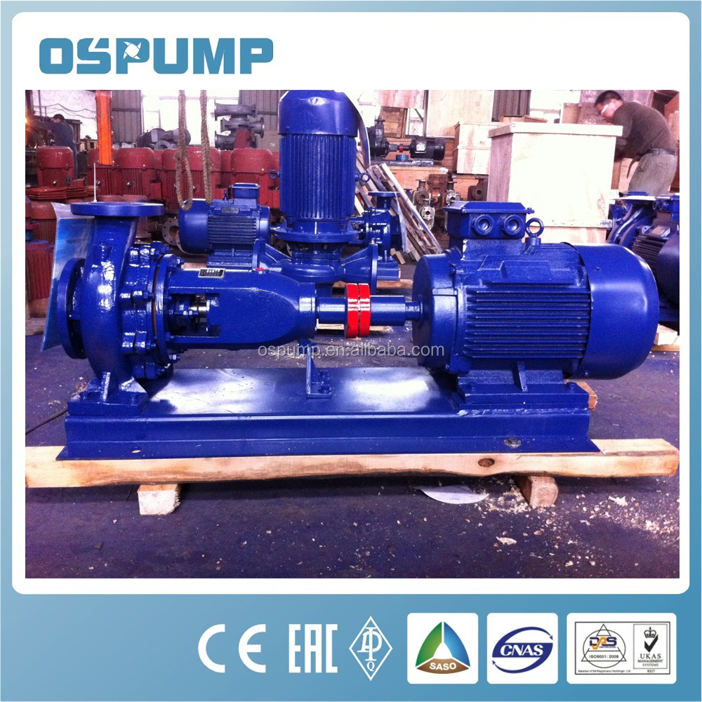 Axial End-Suction Centrifugal Pumps