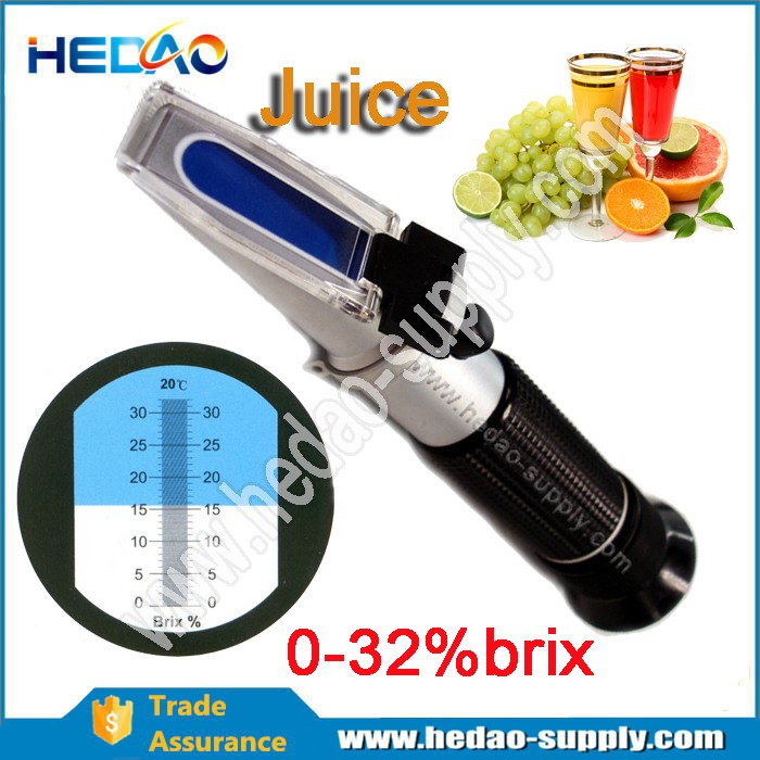 0-32% Brix meter refractometer company in China