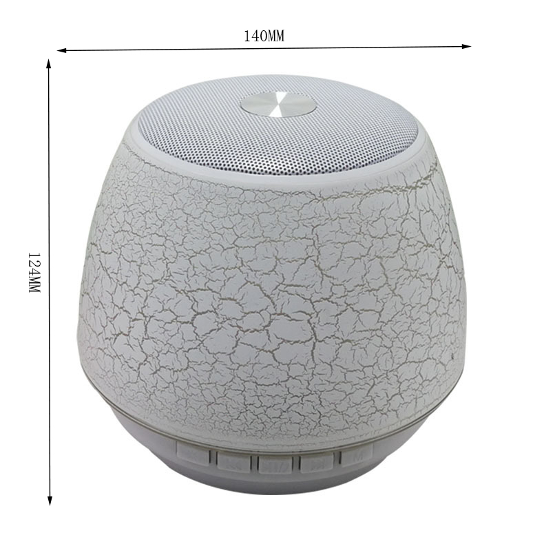 2019 new arrivals hifi sound 10w mushrooms led light bt wireless speaker with with FCC CE ROHS
