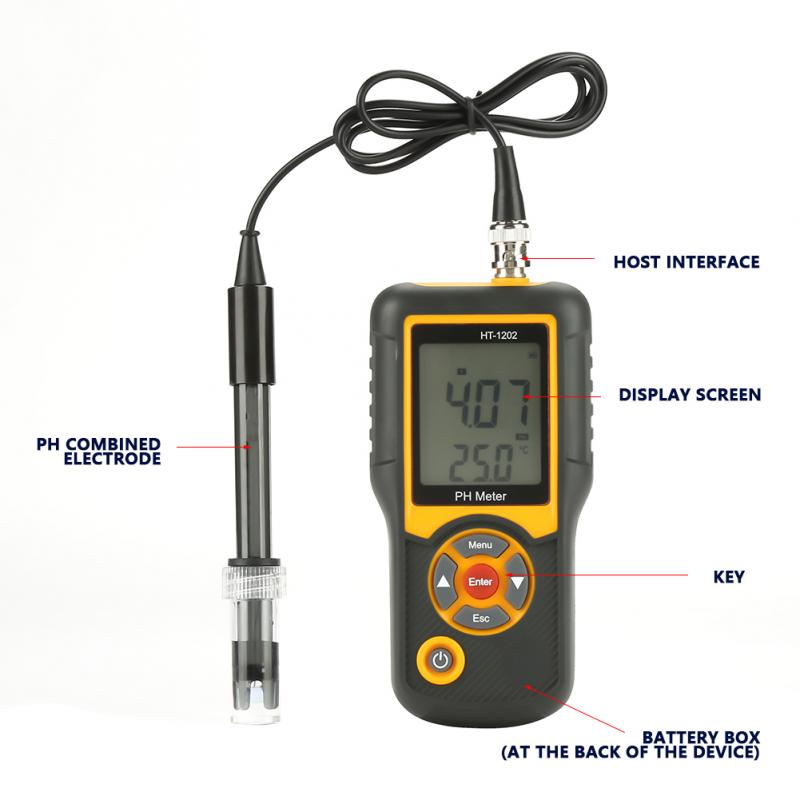 pH meter water level sensor water level meter HT-1202