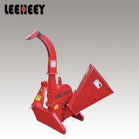 Low Price Professional Mini Front Loader Wood Drum Chipper