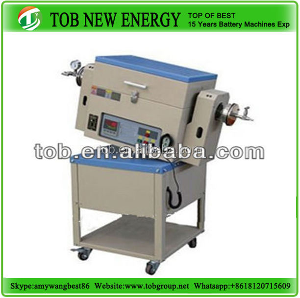 Quartz tube high temperature rotary furnace for lab