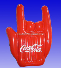 pvc inflatable hand , inflatable promotional hand