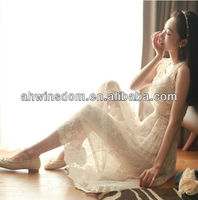 2013 SUMMER KOREAN STYLE LONG LACE MAXI PROM DRESSES