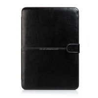 Black PU Leather Protective Laptop Case for Macbook Retina Pro 13""