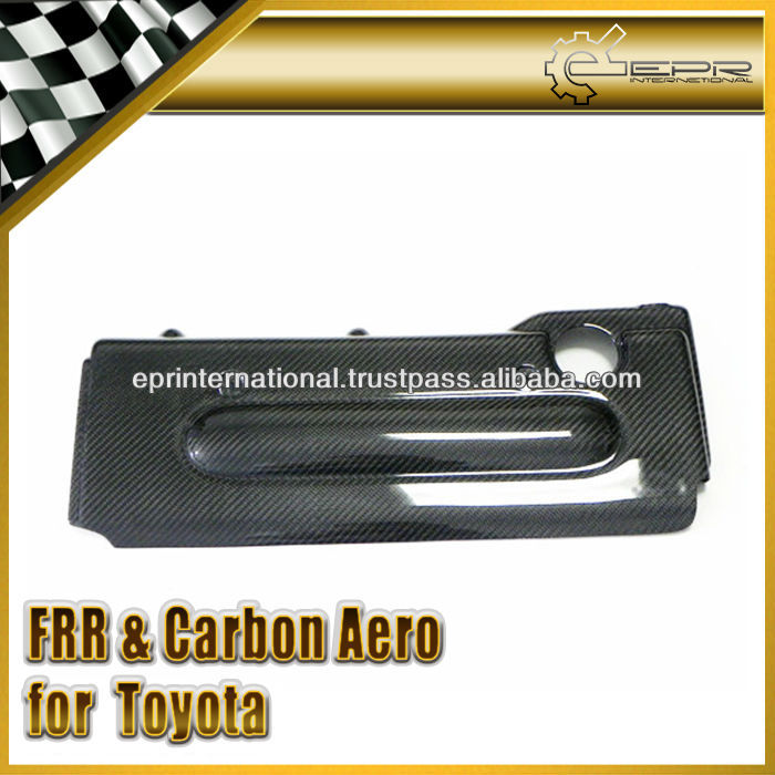 For Toyota Scion TC Carbon Fiber OEM Engine Cover