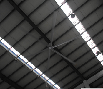 7m HVLS Large air volume Industrial Ceiling Ventilation Fans for greenhouse