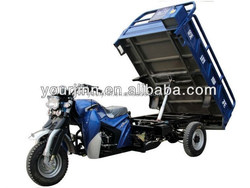 automatic unload motorcycle three wheel