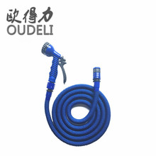 Car wash equipmengt expandable water hose high pressure cleaning
