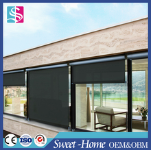 Outdoor best selling solar window shade one way vision roller blind made in China
