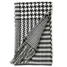 inner mongolian manufacturer wholesale new design warm fashion houndstooth wool scarves shawls
