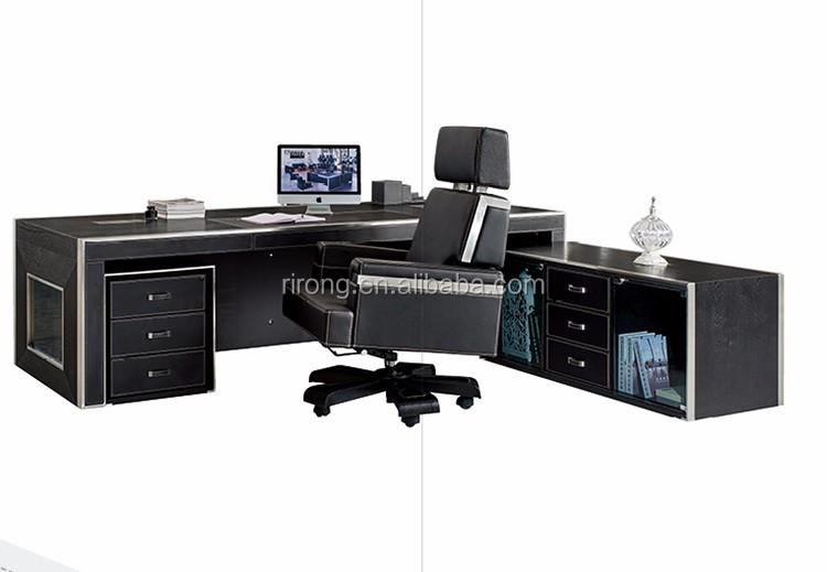 Bureau bureau meilleur prix en cuir table mobilier de for Prix mobilier bureau