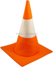 Halloween fancy dress accessories road traffic cone hat adult unisex orange stag night party costume HT9013