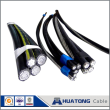 low voltage 3x70+54.6 aerial bundled twisted ABC cable