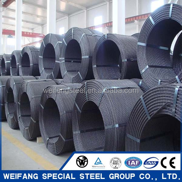 1*7 pc steel wire strand
