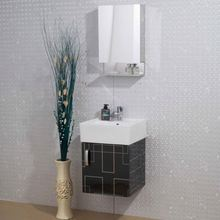 Wall Mounted Washbasin Cabinet With Dressing Mirror Sanitary Vanity