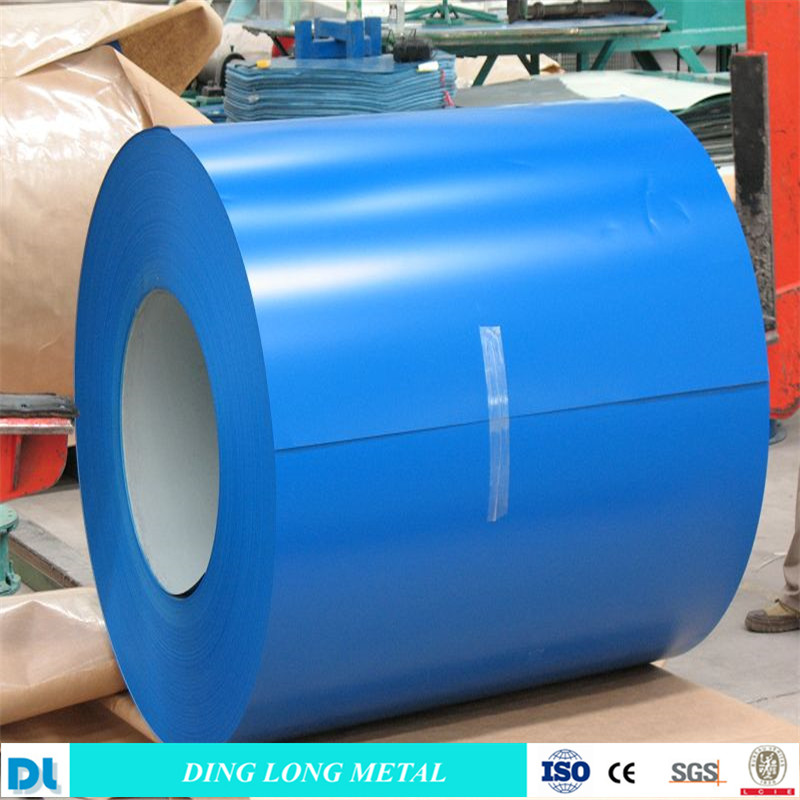 0.14-2.0mm color coated galvanized steel coil/PPGL PPGI