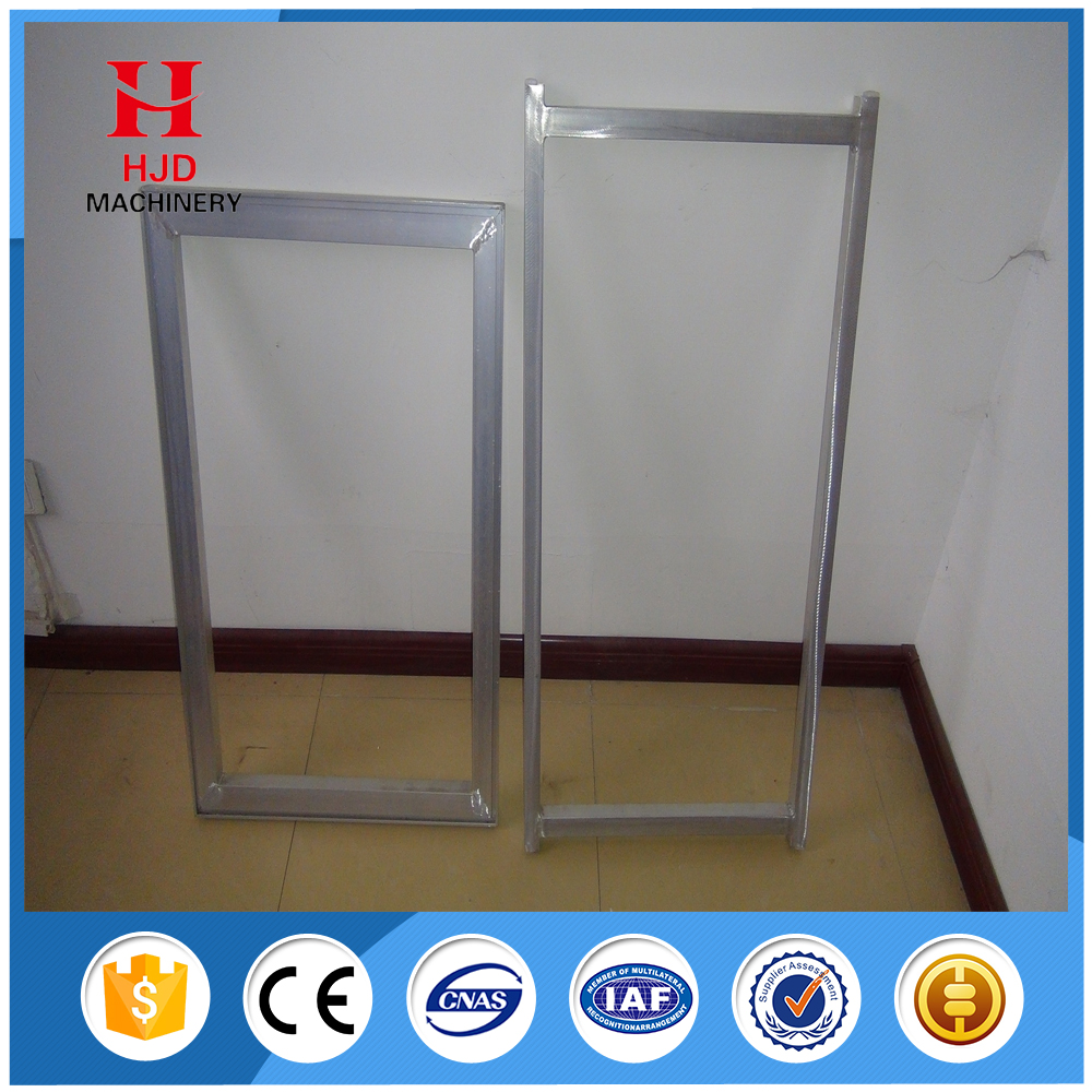 screen printing aluminum frames with HJD-N