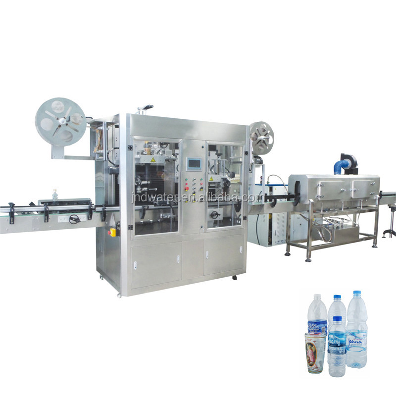 Double Head Shrink Sleeve Labeling Machine for Bottle