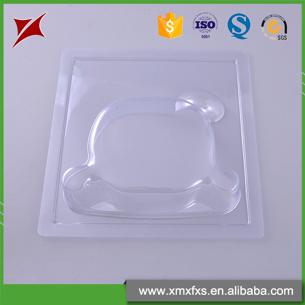 Different size packaging shower head plastic tray disposable blister card