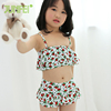 100% factory directly eco-friendly great stretch breathable hot sales child swimming bikini swimwear