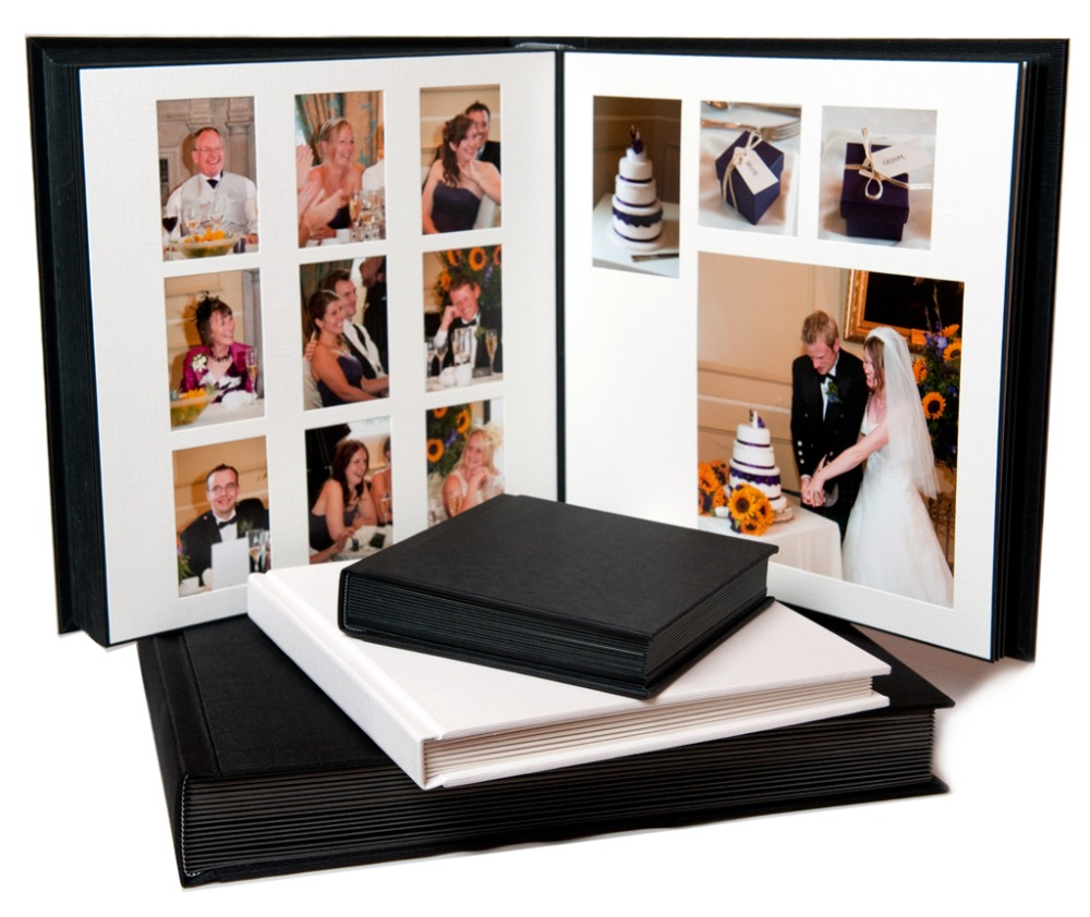 High End Custom Paper Wedding Photo Albums Printing