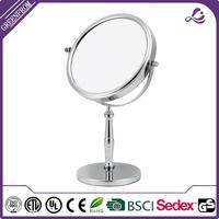 Multifunctional jepara table mirror double sides folding frame magnification mirror
