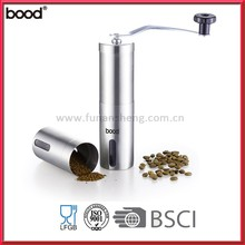 Hot Sale Amazon Ceramic Stainless Steel Manual Coffee Grinder/ Mill