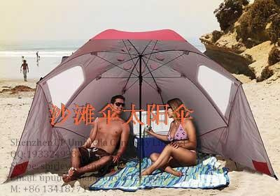 2015 fashion folding beach umbrella beach