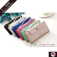 JOOBEM Comprehensive Solutions Retro Pure Color wallet anti-theft alarm