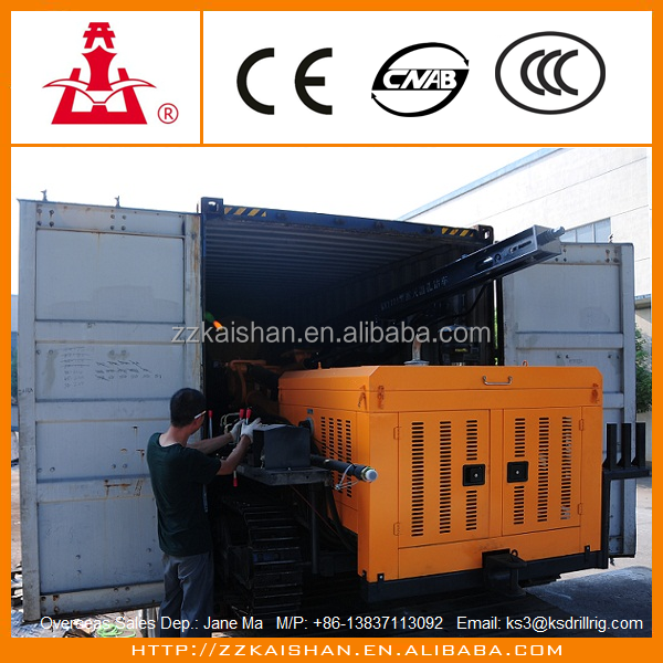 Rotary Mobile/Portable crawler drilling rig for civil engineering and construction