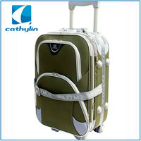 Good quality cheap competitve EVA fabric outside trolley luggage bag