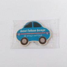 Custom shape car scent paper air freshener