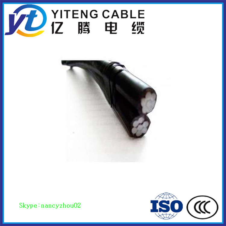 XLPE Insulated Aerial Bundled Cables 6.35/11,12.7/22,19/33kV n2xh cable