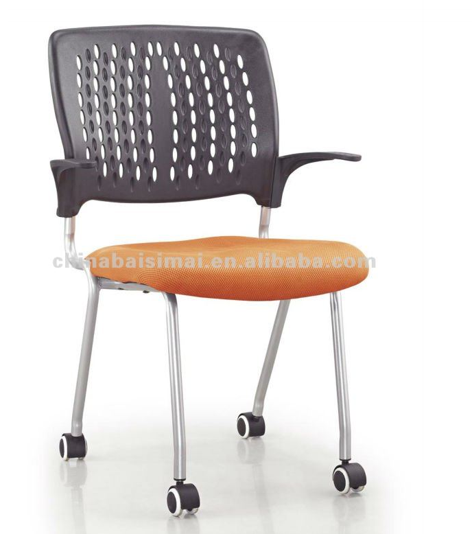 S13# Foshan mesh office chair without wheels ,meeting chair