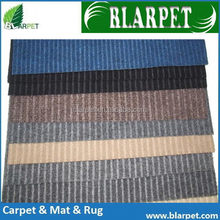 Good quality hot selling ct series bold strip hotel carpet