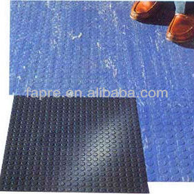 2013 Anti-slip Water-oil-Grease-proof Antistatic Big Round Coin Style Rubber Floor Mat