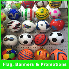 Promotional ball/32 panels machine stitched/custom screen printing football