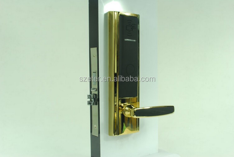 Electronic Keyless RFID door locks for Hotel door lock card reader ET820RF