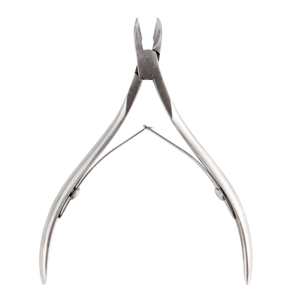 Toe Cuticle Nipper Trimmer Stainless Steel Cuticle Scissor Cutter Nail Art Clipper for Trim Dead Skin Cuticle