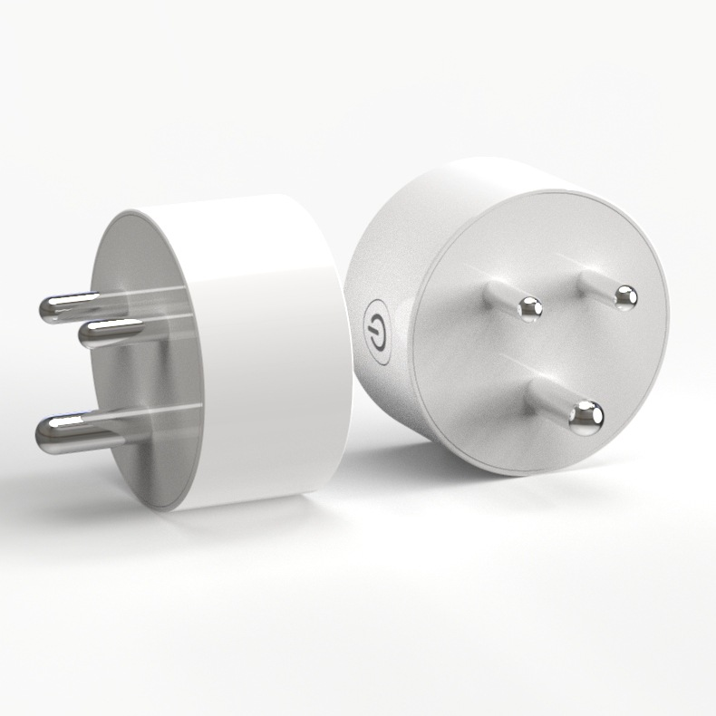 New WIFI Smart <strong>Plug</strong> India <strong>Plug</strong> Smart Timing Socket Wireless Outlet control function <strong>plug</strong> for Smart Home Automation