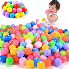 5.5cm 7cm 8cm Pit Balls Fun Plastic Tent Play Ball Soft Bounce Ocean Swim Toy BPA Free