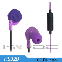 High quality colorful in-ear earphone for all diifferent kinds of mobile phone
