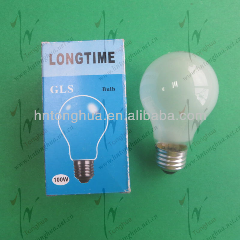 GLS 100W Frosted Bulb E27, 110-120V, Long Life