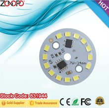 7w 3w 5w 9w 12w 15w 18w led bulb smd2835 110v 220v input voltage driver and LED together e26 e27 plastic and aluminum ac light