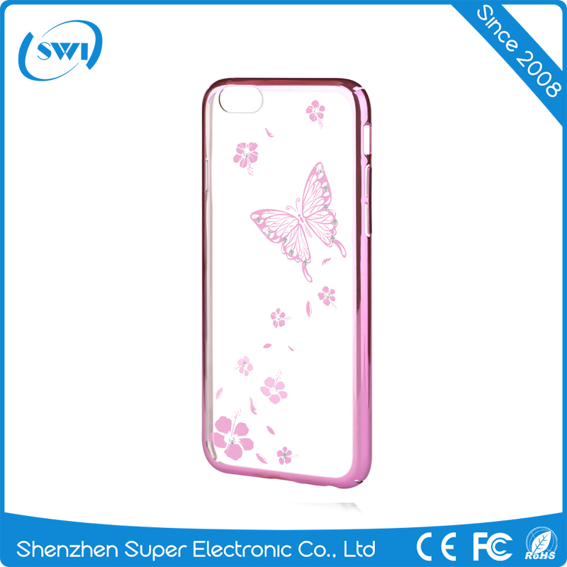 Vouni cell phone accessories wholesale latest design custom crystal case for iphone 6S