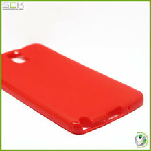glossy soft tpu candy color case for samsung galaxy note3 7200