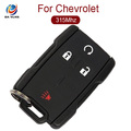 AK014051 OEM Auto Key for Chevrolet 3+1 Button Car Key Frequency 434MHz