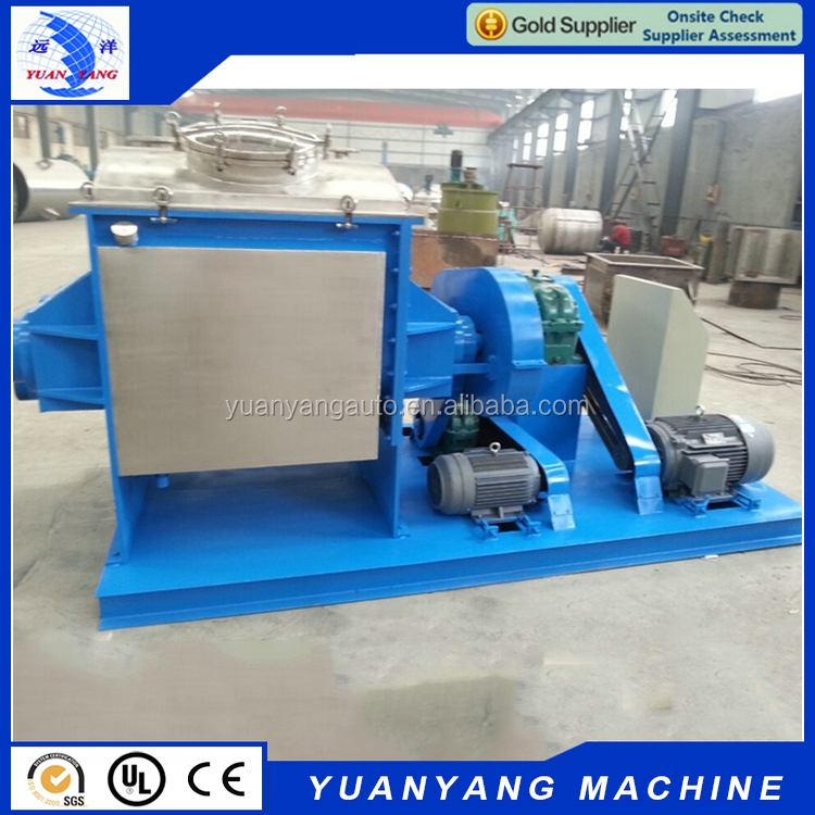 Quality assured new arrival screw extruding 500L pulp paper sigma kneader